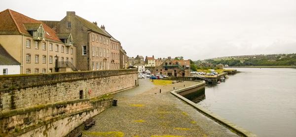 Berwick upon tweed alter Hafen an der Brücke