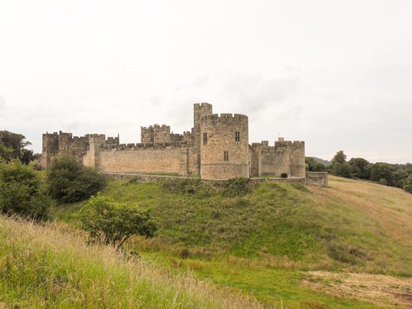 Blick-auf-Alnwick-Castle-Northumberland