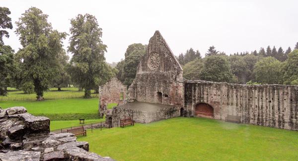 Dryburgh Abbey Reisebericht Schottland Borders