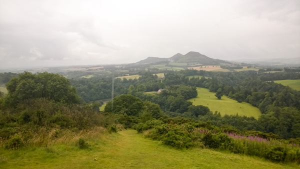 Ausblickspunkt-Scotts-View-Boders-bei-Melrose im Schottland Reisebericht