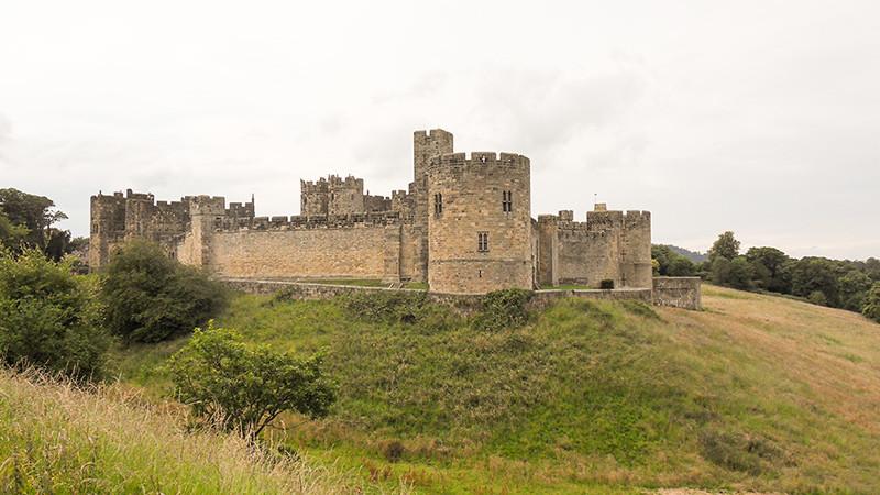Tolles Schloss: Alnwick Castle - Starke Mauern in Nothumberland
