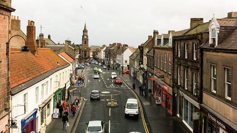 Berwick-upon-Tweed_Stadtansicht_Northumberland